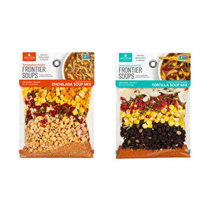 Anderson House (Frontier Soups) Tortilla and Enchilada Soup Mix Sampler 8-pc