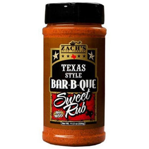 Zach's Texas Style BBQ Sweet Rub