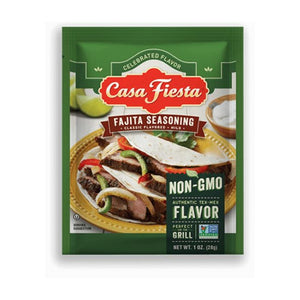 Casa Fiesta Fajita Seasoning Single Serve Packets