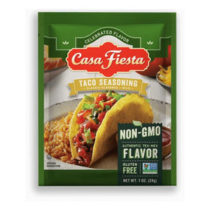 Casa Fiesta Taco Seasoning Single Serve Packets