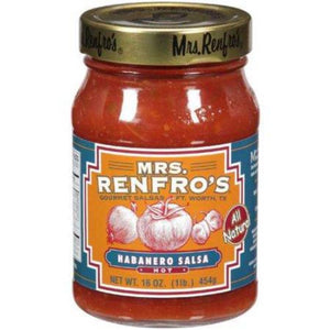 Mrs Renfro's Hot Habanero Salsa (Multi-pack)