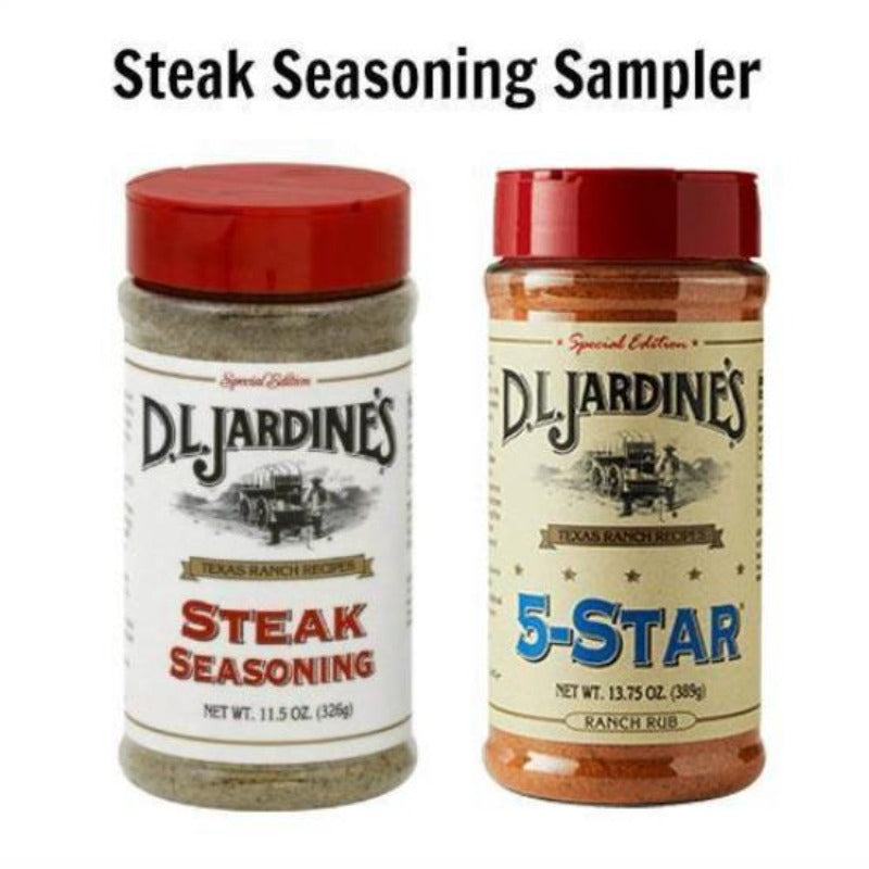 D.L. Jardines Dry Seasoning Samplers
