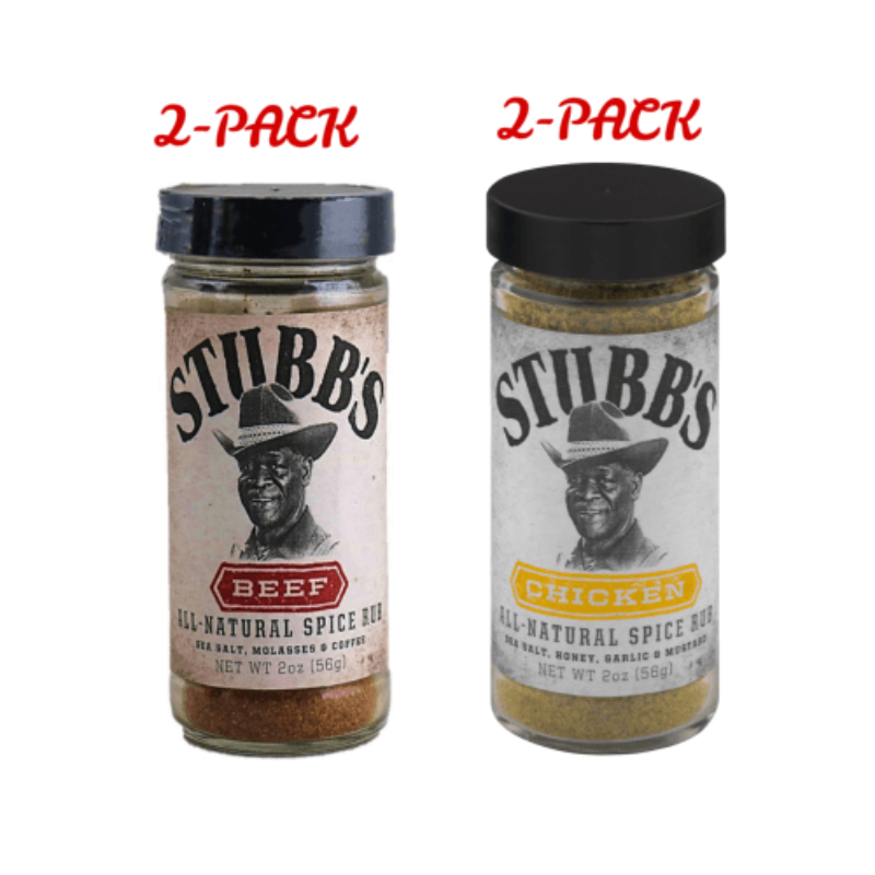 Stubb's  Dry Rub Sampler Set