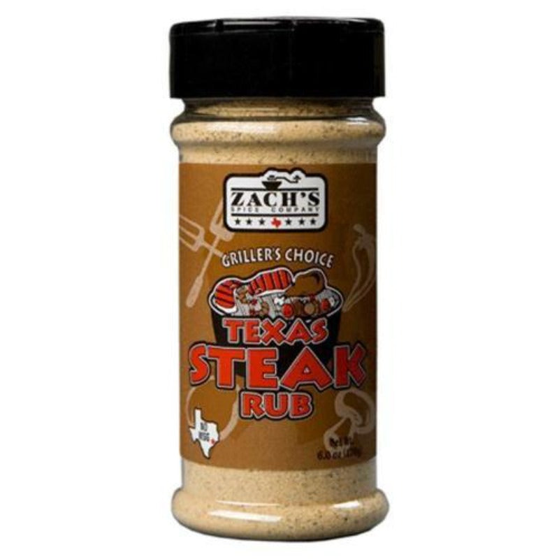 Zach's Texas Steak Seasoning