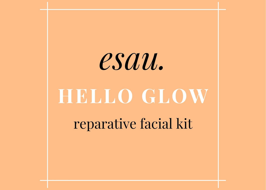 PRE SALE- Hello Glow Reparative At Home Facial Kit