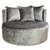 Love seat croco taupe