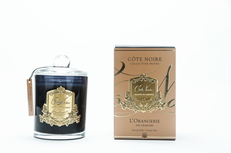 Orangerie - Gold Badge Candles