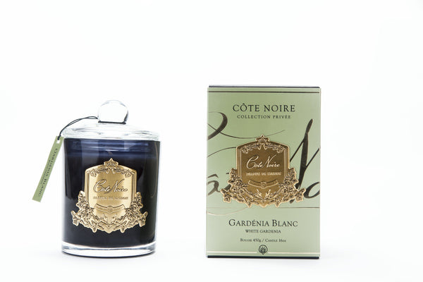 Cote Noire 450g Soy Blend Candle - Gardenia - Gold - GMC45031