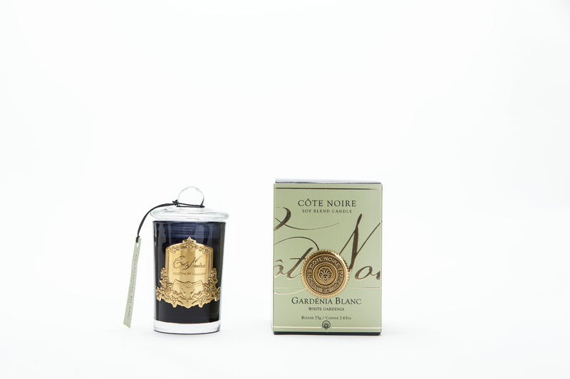 Cote Noire 75g Soy Blend Candle - Gardenia - Gold - GML07528