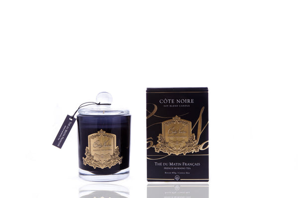 Cote Noire 450g Soy Blend Candle - French Morning Tea - Gold - GML45101