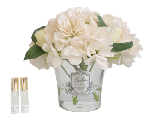 Cote Noire - Hydrangea's & Rose Buds - Champagne - LHRB02