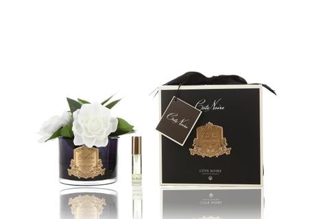 Cote Noire Perfumed Natural Touch Triple Gardenia - Black - GMGB03