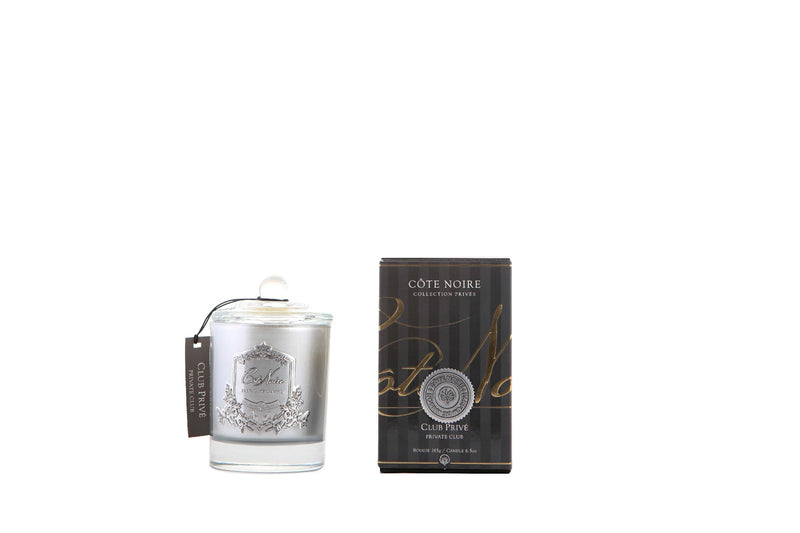 Private Club - Silver Badge Candles