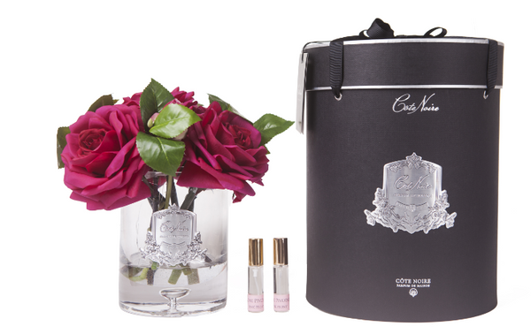 Cote Noire - Luxury Tea Rose - Carmine Red - LTR07
