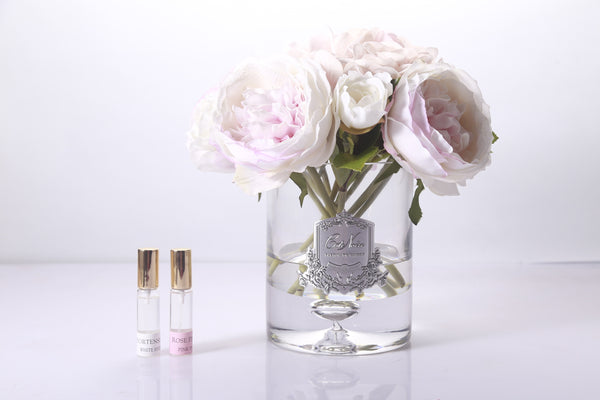 Cote Noire - Luxury Range Peonies and Hydrangea's - Antique Blush - LHR03