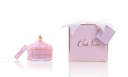 Art Deco Candle - Pink - Pink Champagne -  GML45002