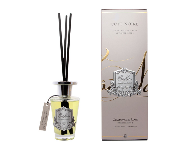 Cote Noire 150ml Diffuser Set - Pink Champagne - Silver - GMDS15018