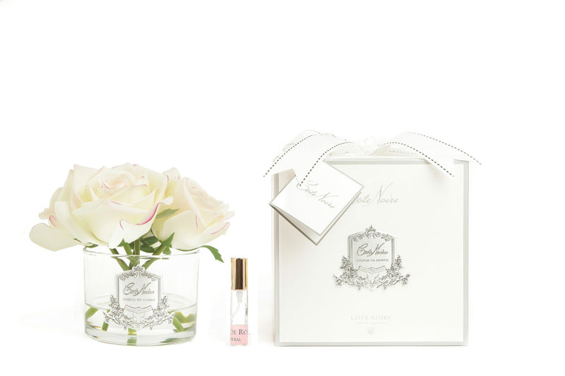 Cote Noire Perfumed Natural Touch 5 Roses - Clear - Pink Blush - GMR62