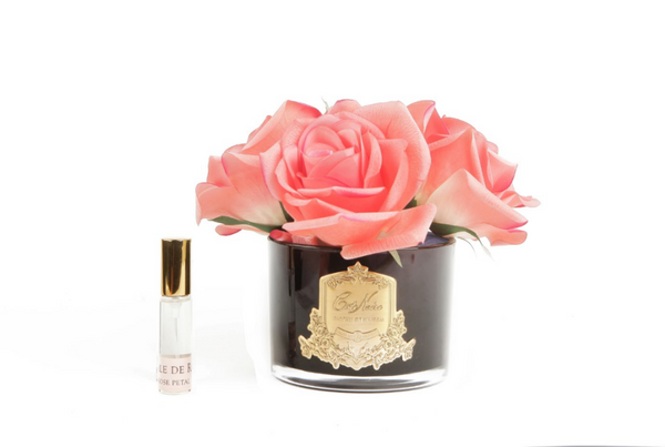 Cote Noire Perfumed Natural Touch 5 Roses - Black - White Peach - GMRB65