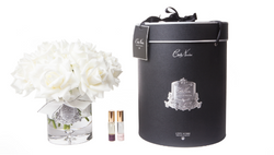 Cote Noire - Luxury Grand Bouquet - Silver badge - Ivory - Black box - LTW01