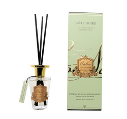 Cote Noire 150ml Diffuser Set - Persian Lime & Tangerine - Gold - GMDL15022