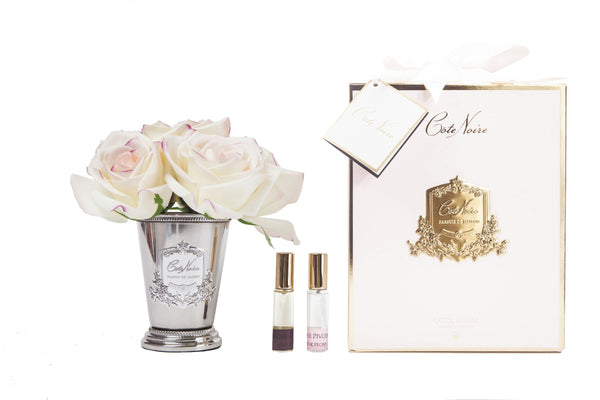 Cote Noire - Seven Rose Bouquet in Pink Blush Pink Box - SMB20