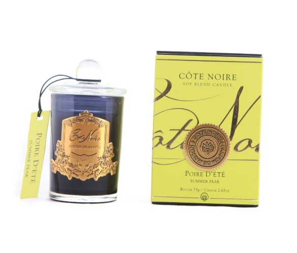 Cote Noire 75g Soy Blend Candle - Summer Pear - Gold - GML07514
