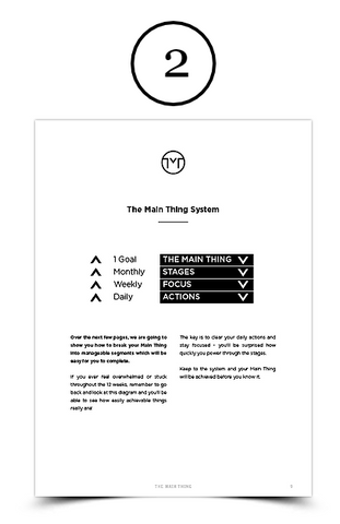 the main thing system 2