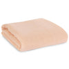 Modern Burlap Neutral Dusty Pink Organic Cotton Muslin Swaddle Blanket
