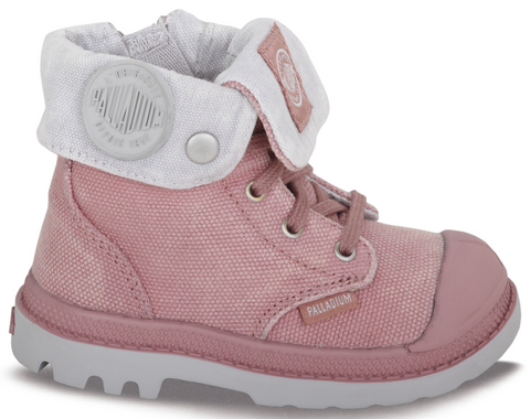 PALLADIUM BAGGY ZIPPER - OLD ROSE / VAPOR