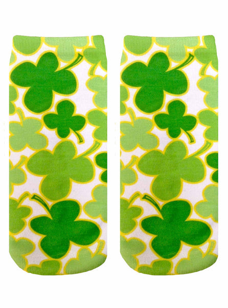 LIVING ROYAL 4 LEAF CLOVER ANKLE SOCKS