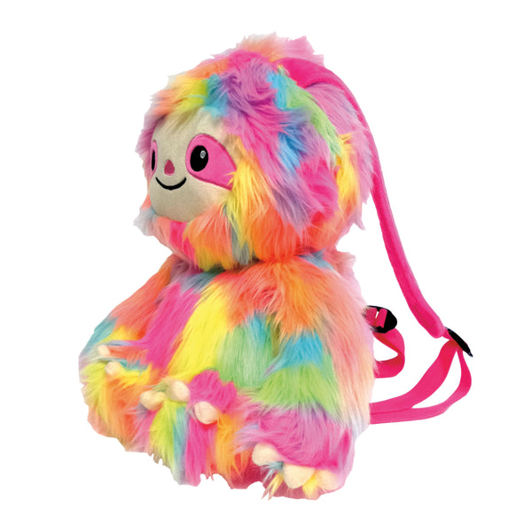 Sloth Plush Furry Backpack By Iscream