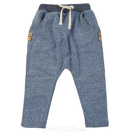 Hip Harem Pants Heather Grey