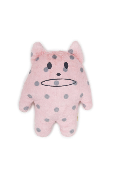 Craftholic Pink Dot Korat Hug Cushion (Medium)