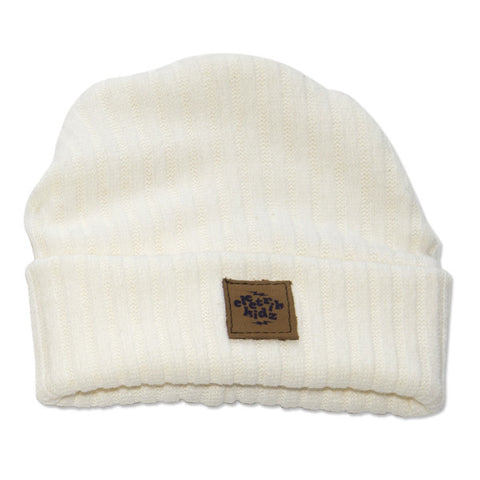 Electrik Kidz Beanie Hat - Cream