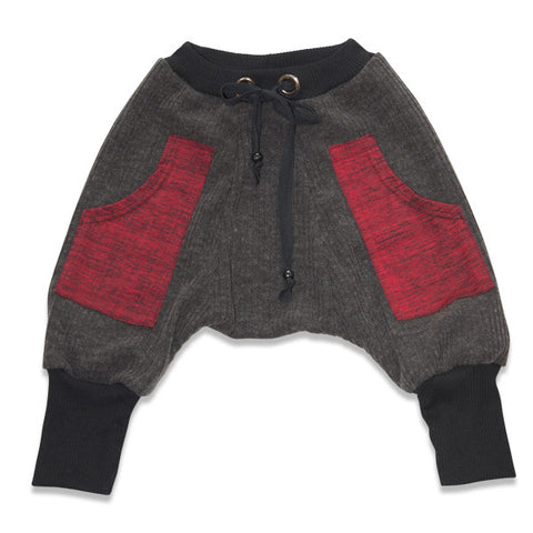 Electrik Kidz Pantalon Harem Red Pocket Pant
