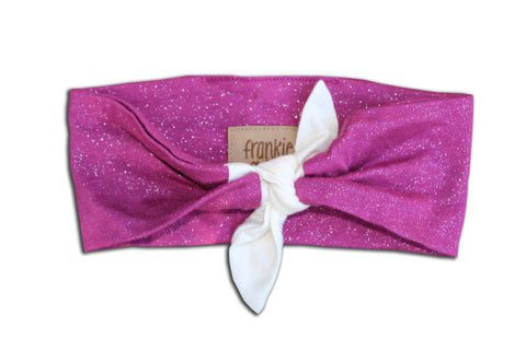Frankie & Sue Purple Glitter Headwrap