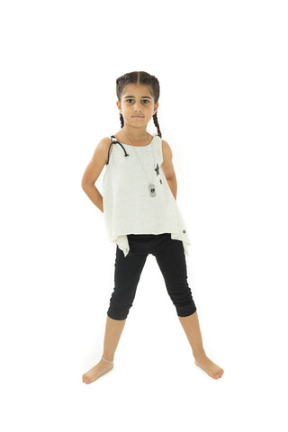 Tai 2 Speckled  Tank Top with Star