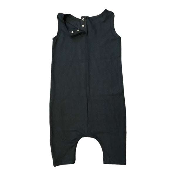 Milan And Oz Tank Romper - The Great And Powerful Black