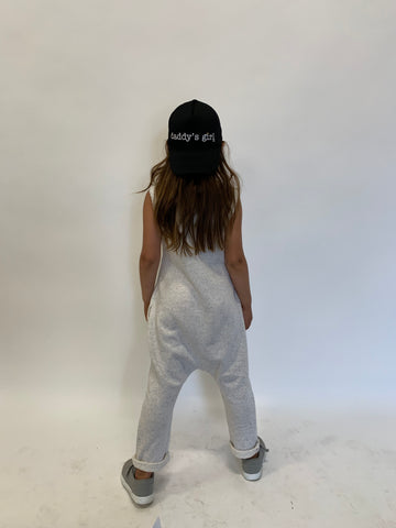 HEATHER GREY UNISEX ROMPER