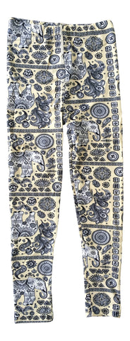 Sinai Printed Legging - Thai Elephant