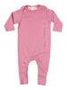 GO GENTLY BABY MESSAGE ROMPER ROSE