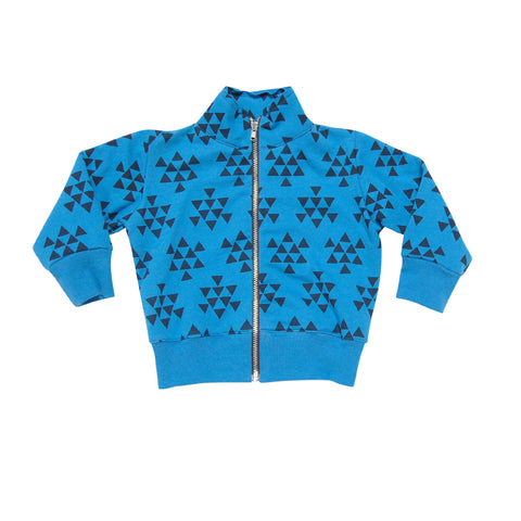 GO GENTLY BABY BOARD JACKET- PACIFIC BLUE TRIANGLE