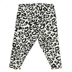 THE TINY UNIVERSE THE TINY LEGGINGS SNOW LEOPARD