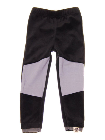MINI SHATSU BLACK AND GRAY LEGGINGS