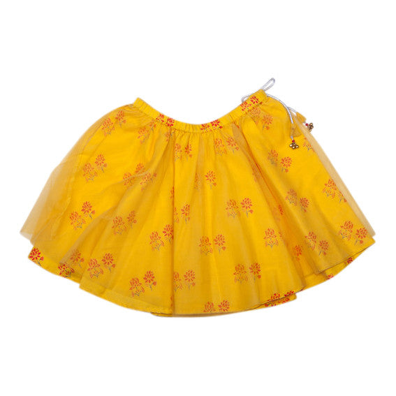 Twirly Skirt - Mustard