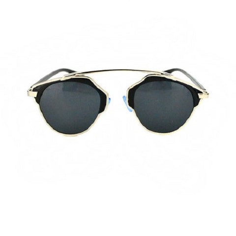 Chloe K Black on Black Dubai Style Sunglasses