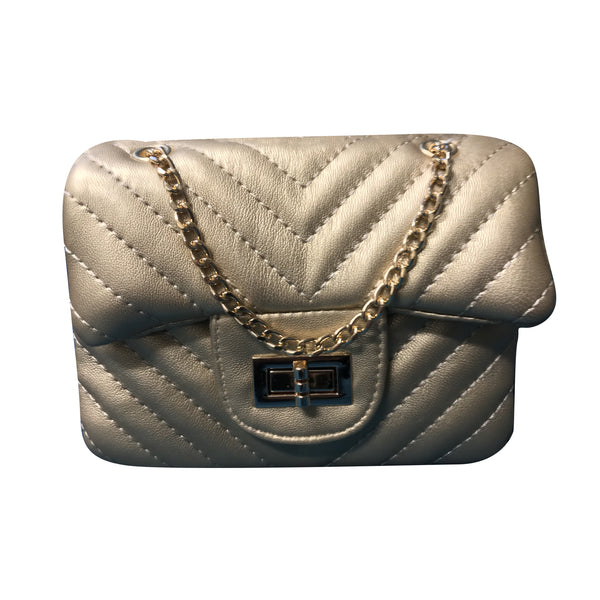 Chloe K New York Maria Mini Bag - Gold