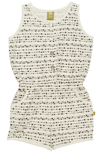 NUI SARA PLAY SUIT LINE DOTS