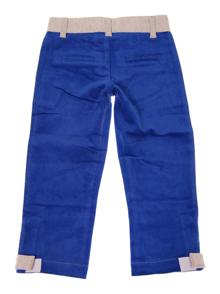 MINI SHATSU COTTON-BLUE / VELOUR